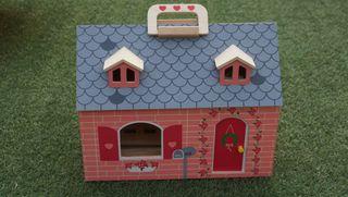 Casa juguete madera ver medidas