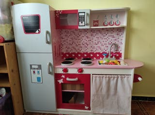 Cocina madera niña juguete