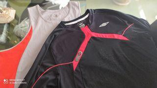 Pack dos camisetas Nike y Umbro