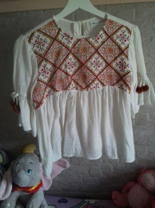 blusa zara niña talla11-12