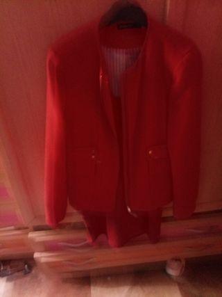 chaqueta vestir stradivarius