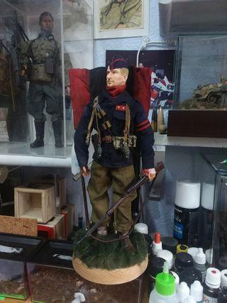 soldado falange guerra civil