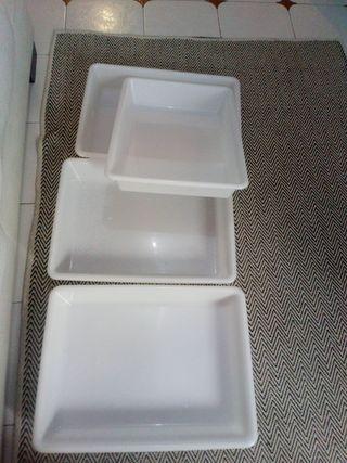 5 bandeja 50x39x9 de plastico