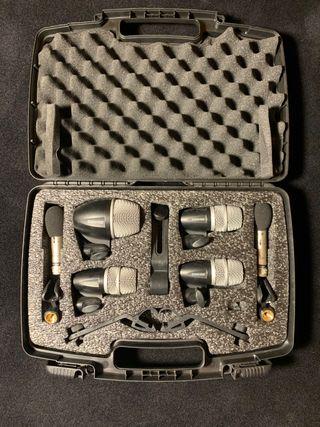 Shure micrófonos kit de batería