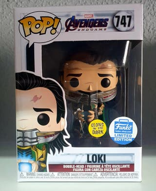 Marvel- LOKI - Figura Funko- Glows in the dark