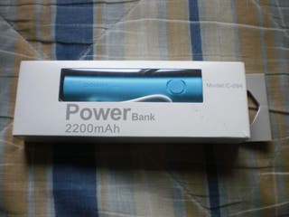 Power bank + linterna 2200 mAh