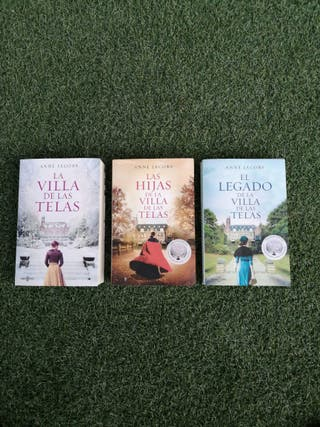 Libros Trilogía La Villa de las Telas