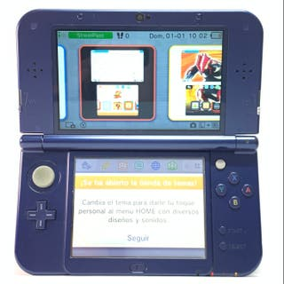 NINTENDO 3DS XL AZUL,CATEGORIA B