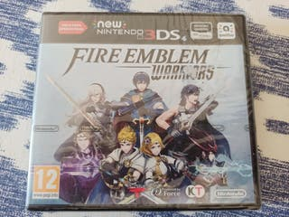 fire Emblem warriors Nintendo 3DS precintado