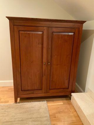 Armario madera especial para televisión