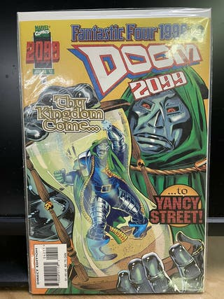 Doom 2099 #42. Marvel Comics. INEDITO EN ESPAÑA.