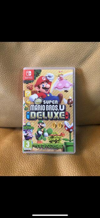 New súper Mario bros Nintendo switch