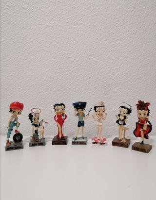 Figuras Betty Boop profesiones