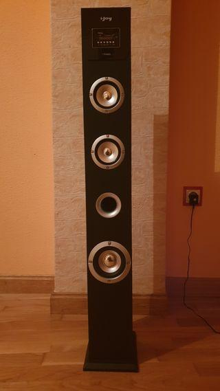 Torre de sonido 2.1 60w
