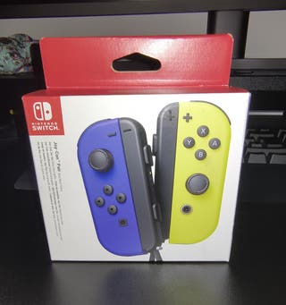 Joycons Nintendo Switch a estrenar