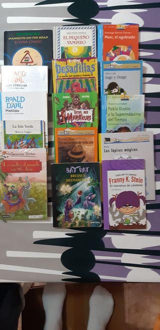 libros de lectura infantil a partir de 7 años