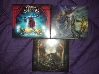 SAUROM LOTE 2CD+DVD, 2CD y CD DIGIPACK