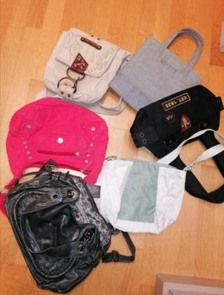 pack de bolsos