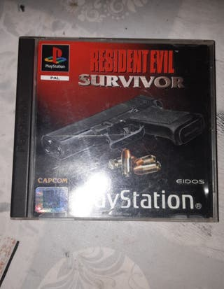 resident evil survivor ps1