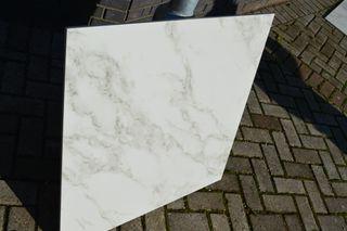 Porcelain tile 80×80 cm 800×800mm white marble