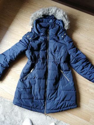abrigo HyM embarazada talla S