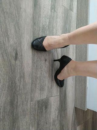 zapatos de tacón de Bershka 36