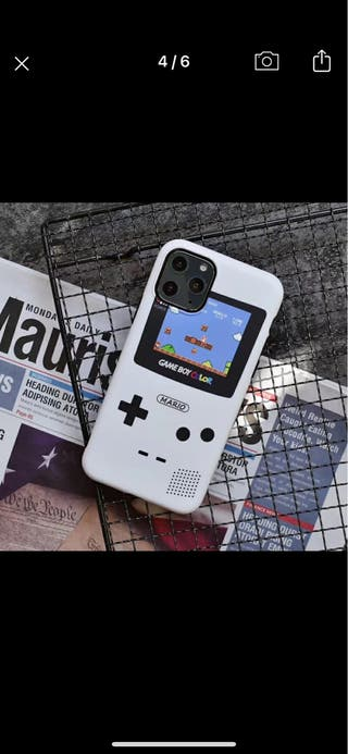 Funda gameboy iPhone 11pro A ESTRENAR