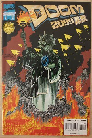 Doom 2099 31 1994 Marvel Comics. DR. MUERTE.