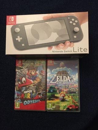 Nintendo Switch Lite Nueva+ Juegos