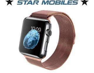 ** CORREA APPLE WATCH MILANESA MARRON