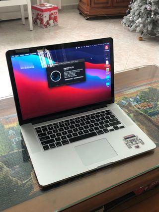 MacBook Pro 15 pulgadas (retina) 2014