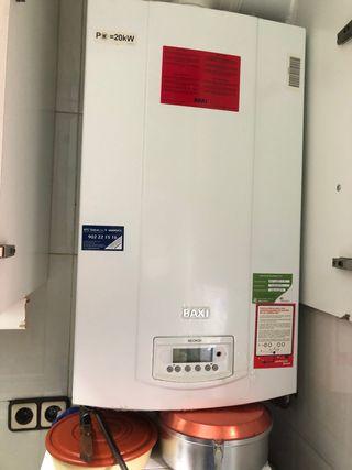 Caldera Gas Natural y Radiadores