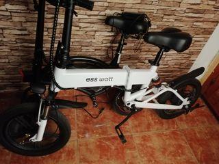 bicicleta electrica pegable con factura i cargado