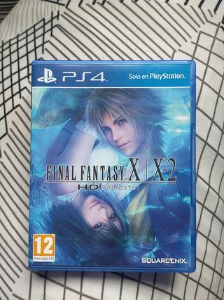 PS4 Final Fantasy X X-2 remasterizado
