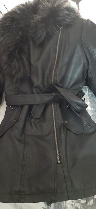 abrigo polipiel
