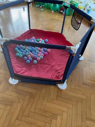 barandillas de parque juego para bebe