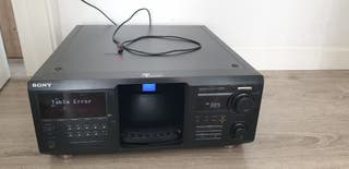 Sony CDP- CX450 caben 400 cd