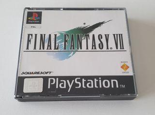FINAL FANTASY VII / PS1. PAL ESPAÑA