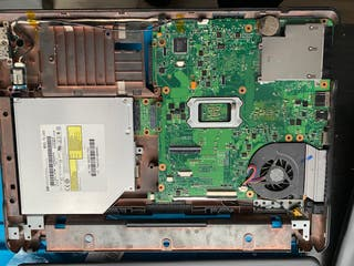 Despiece portátil HP 6735s