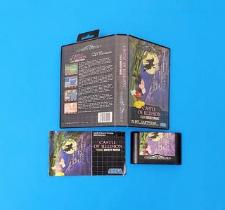 Castle of Illusion / Mega Drive