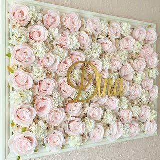 cuadros personalizado floral