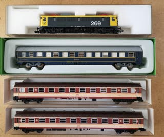 Set Escala N: Kato269+Expreso RENFE