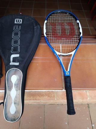 Raqueta tenis Wilson nFury