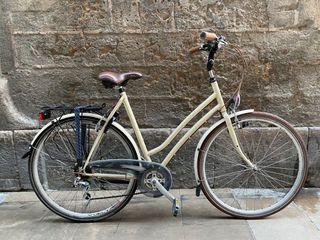 Bicicleta de paseo y ciudad