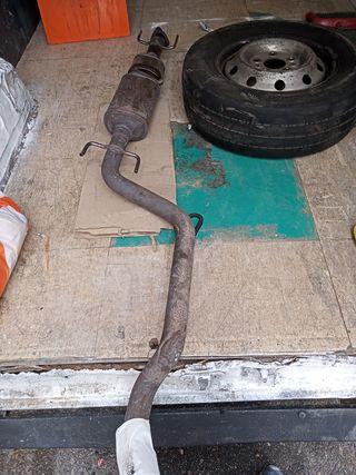 tubo de escape Opel Zafira. B