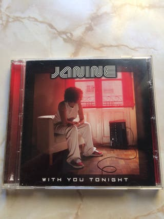 Cd - Janine - With you tonight