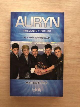 Libro de la famosa boyband española auryn