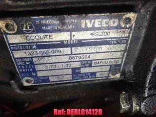 DEBLC14120 Caja cambios Iveco Daily caja abierta /
