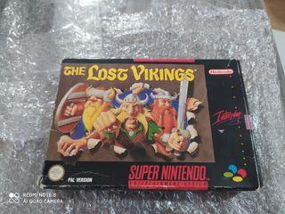 The Lost Vikings de Super Nintendo