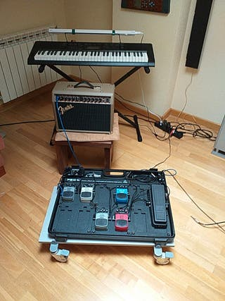 cambio lote por sintetizador para guitarra